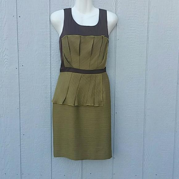 9a0c78211e2 NWT Antonio Melani Size 6 Golden Rule Dress